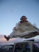 burning man 2004 in wedding dress